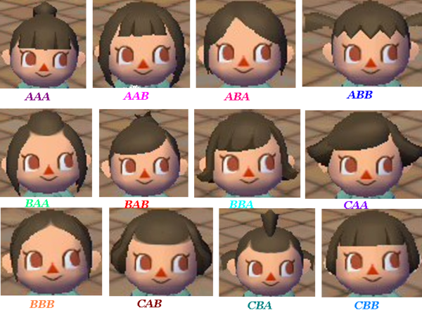 Hairstyles Animal Crossing City Folk : ... trucs animal crossing wii lets go to the city wild world city folk